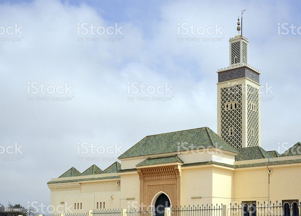 Nouakchott, Mauritania: Moroccan Mosque stock photo