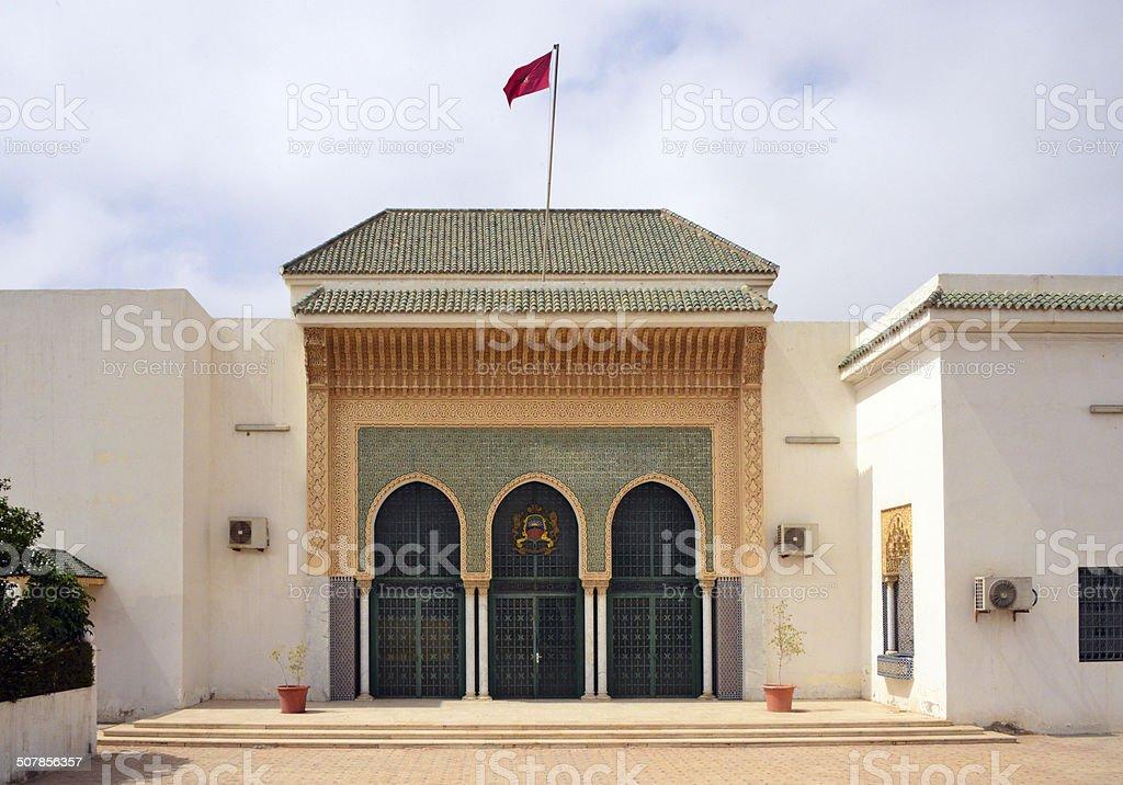 Nouakchott, Mauritania: Moroccan Mosque stock photo