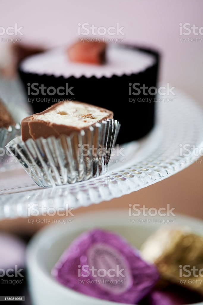 Nougat and Cupcakes royalty-free stock photo