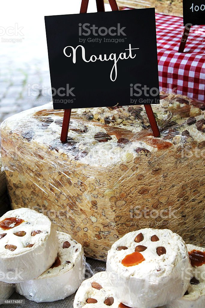 nougat royalty-free stock photo