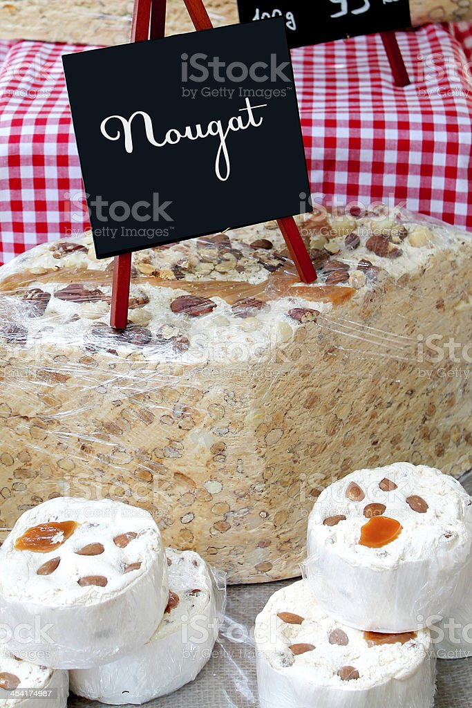 nougat royalty-free stock photo
