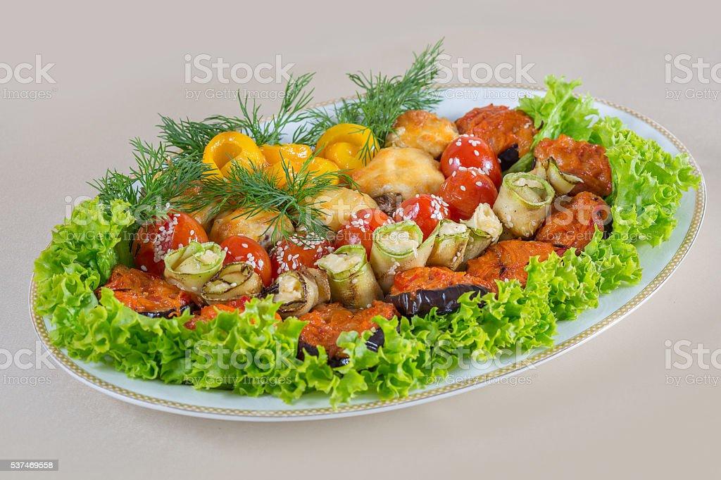 Nourishing main course stock photo