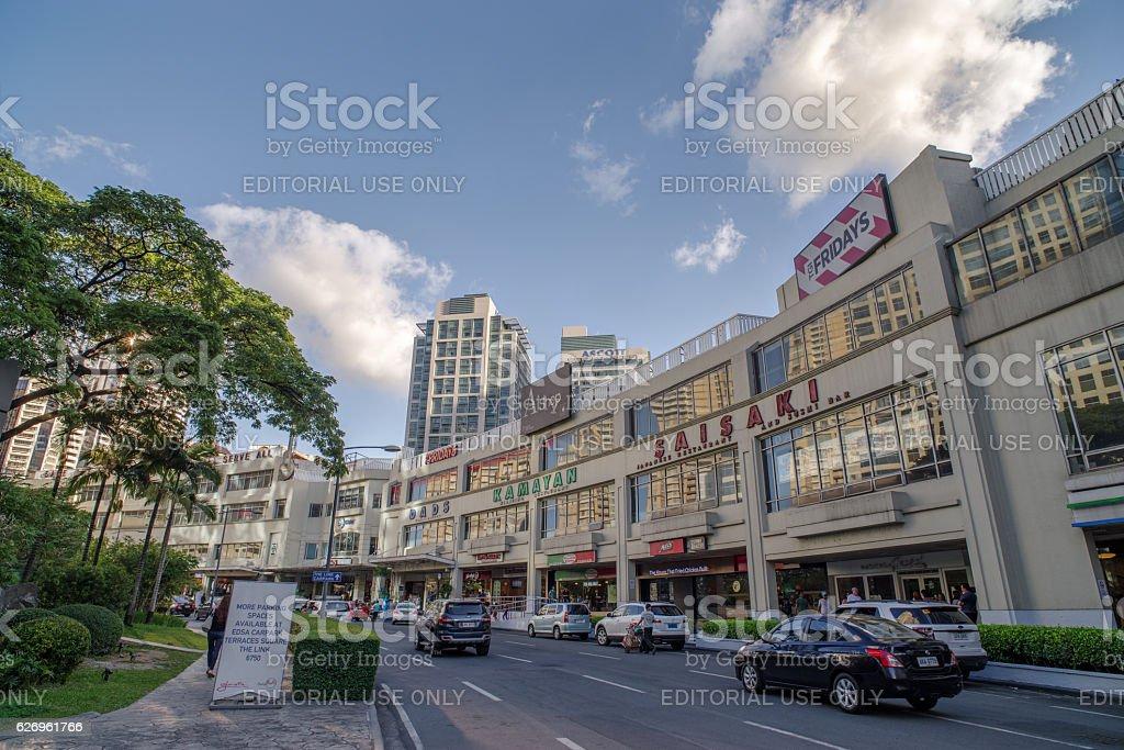Nov 30,2016 at Glorietta, Makati , Philippines stock photo