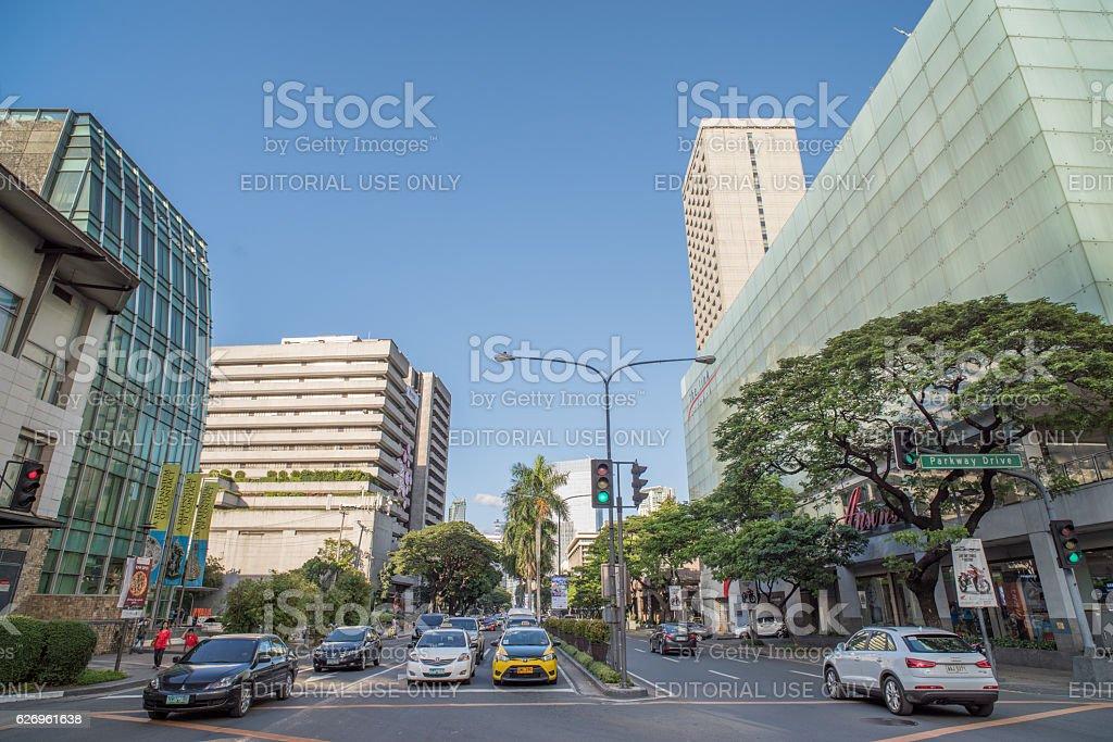Nov 30,2016 at Greenbelt , Makati , Philippines stock photo