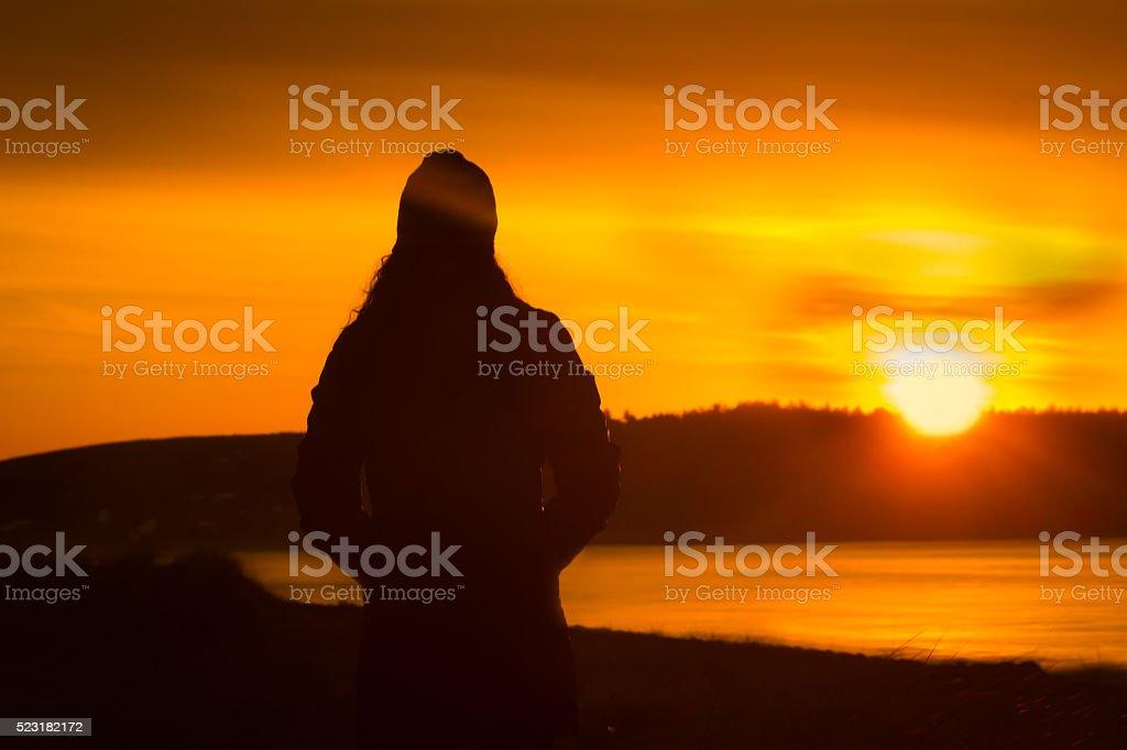 Nova Scotia Morning Glory - 1 stock photo