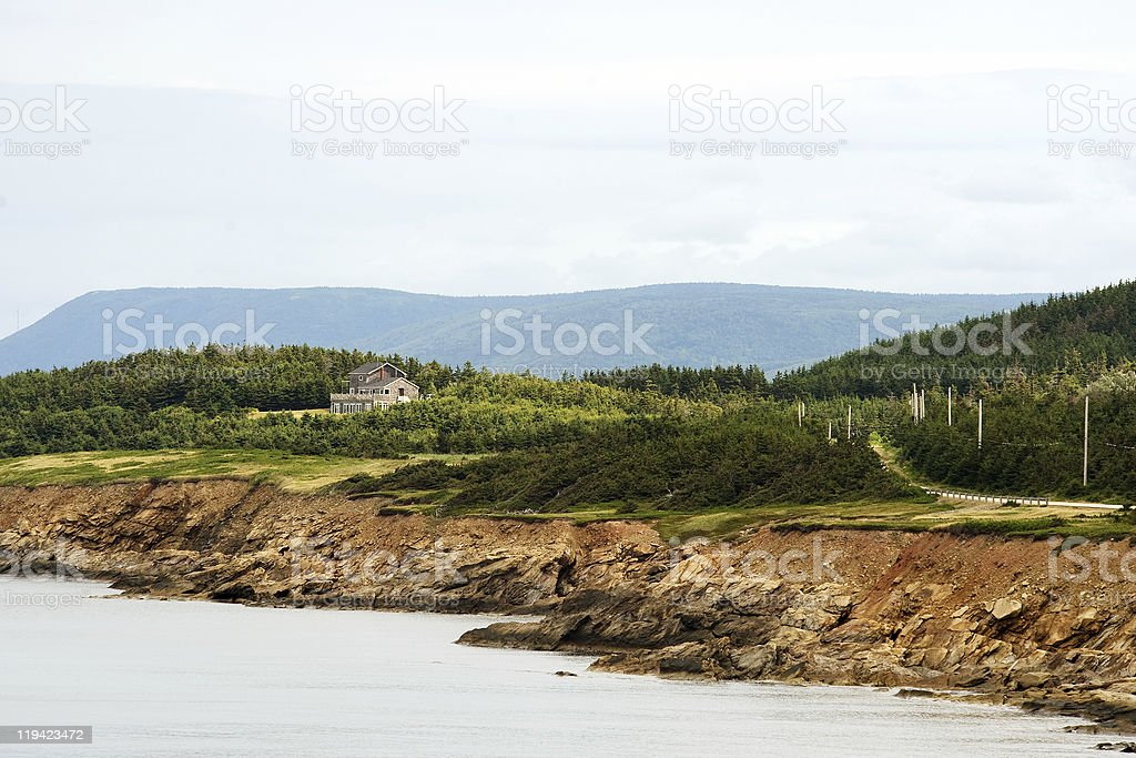 Nova Scotia stock photo