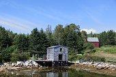 Nova Scotia scenery. At Northwest Cove, Nova Scotia