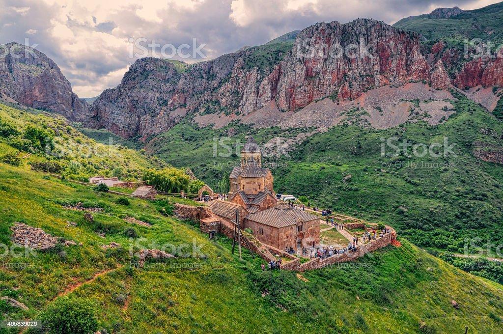 Novarank monastery stock photo