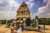 November 10, 2014: Shrine at the botanical gardens of Bangalore