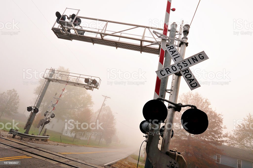 November Fog (series) stock photo
