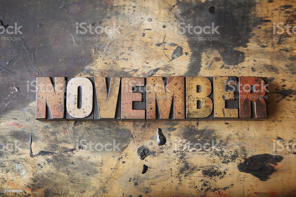 November... stock photo