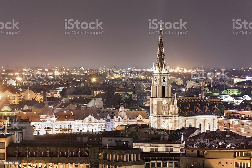 Novi Sad,Serbia stock photo