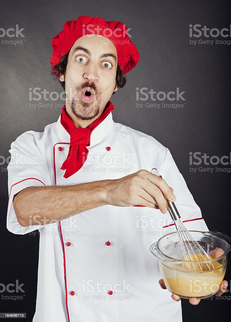 novice cook royalty-free stock photo