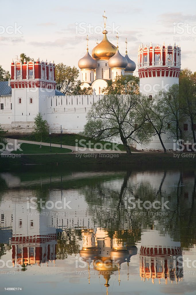 Novodevichy convent 4 royalty-free stock photo
