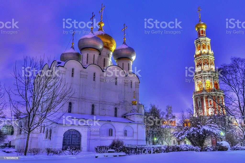 Novodevichy Convent royalty-free stock photo