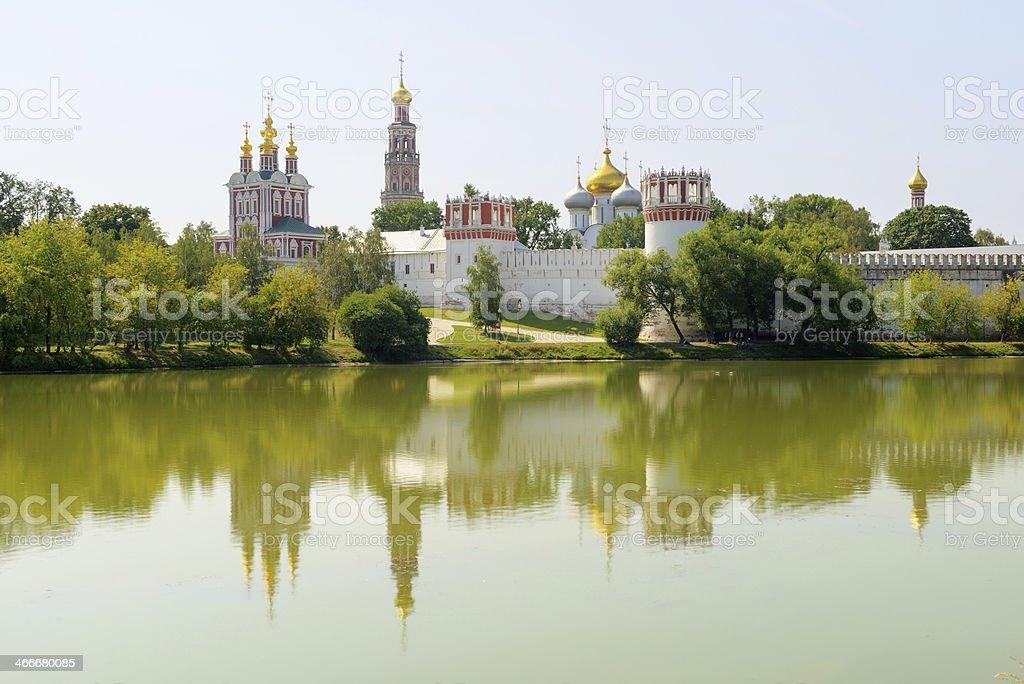 Novodevichy Convent stock photo