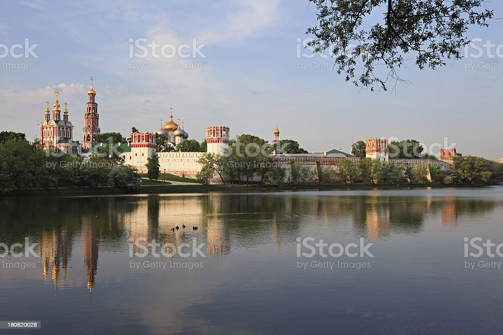 Novodevichy Convent, Russia stock photo