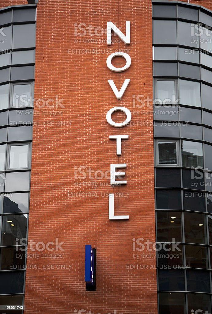 Novotel hotel logo stock photo