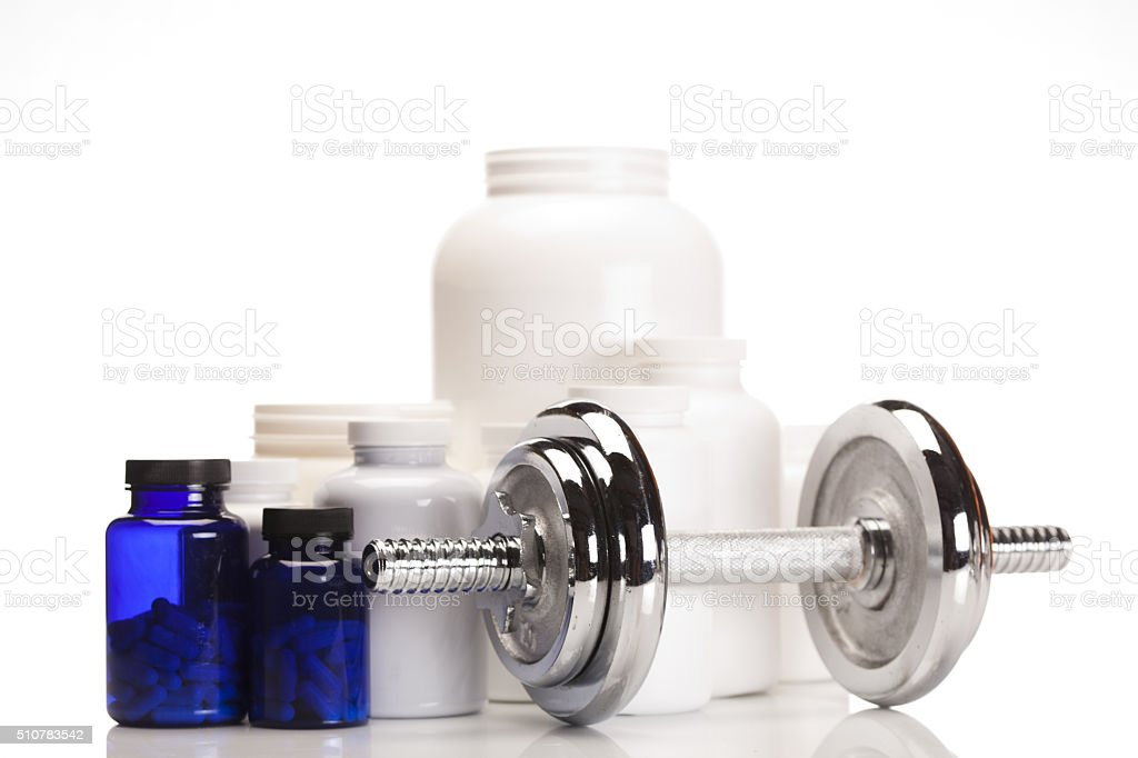 Now bodybuilding stock photo