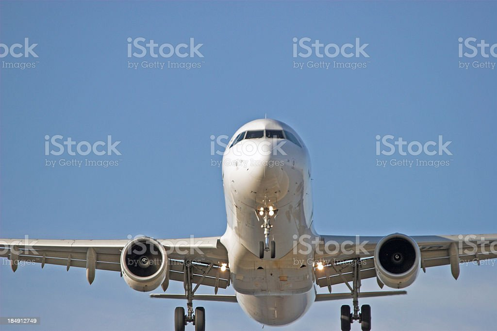Now departing III royalty-free stock photo
