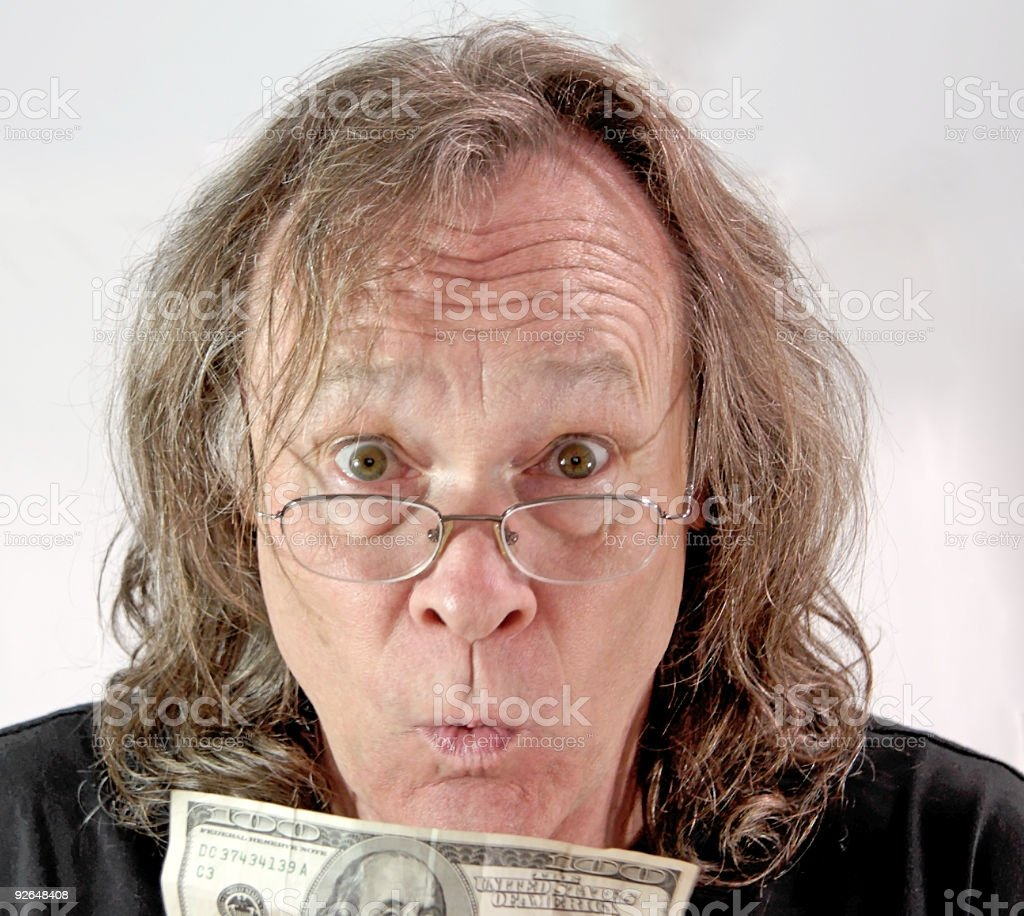 Now I Can Pay the 'Lectric Bill stock photo