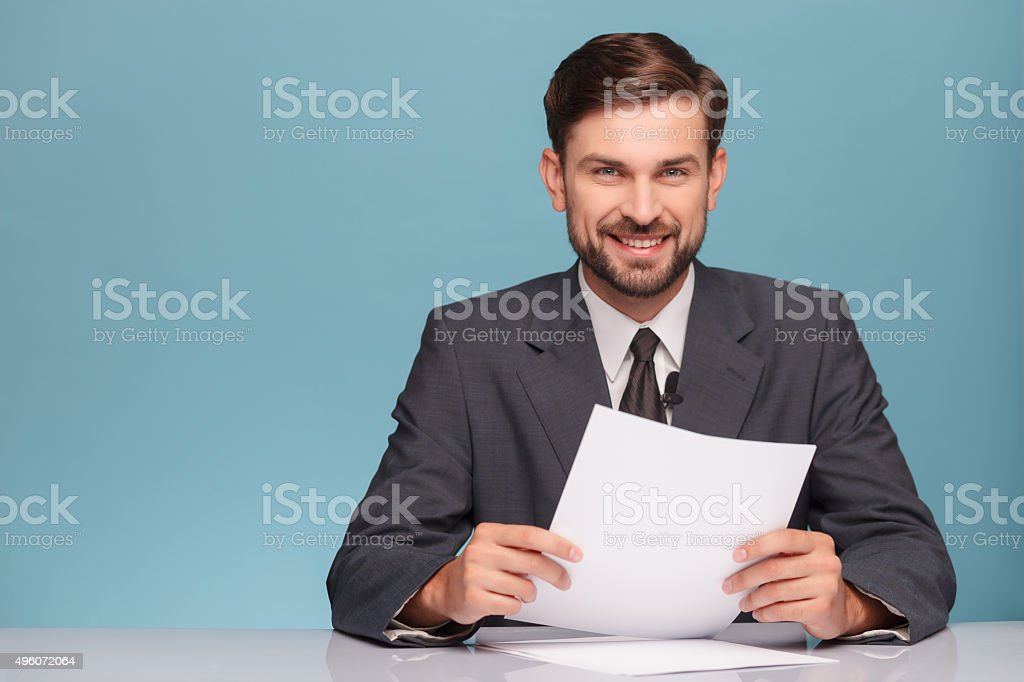 Now please listen to me very attentively stock photo