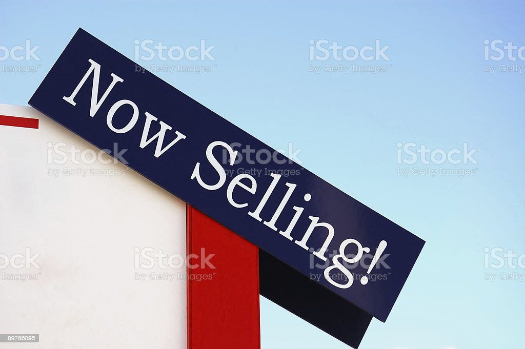 Now Selling! royalty-free stock photo