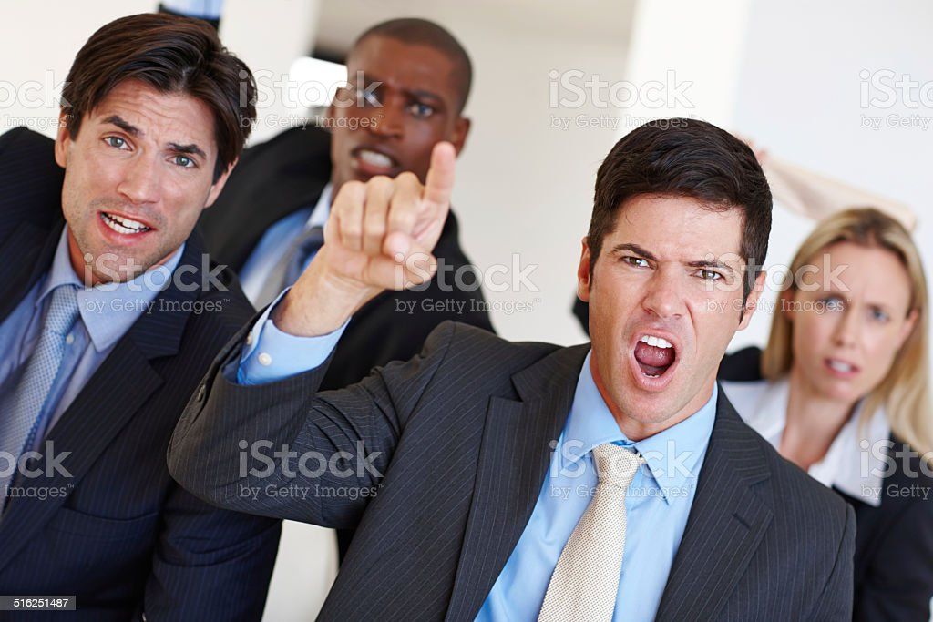 Now that's what I call a hostile takeover stock photo