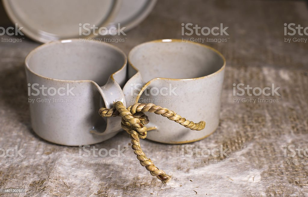 Now together forever royalty-free stock photo