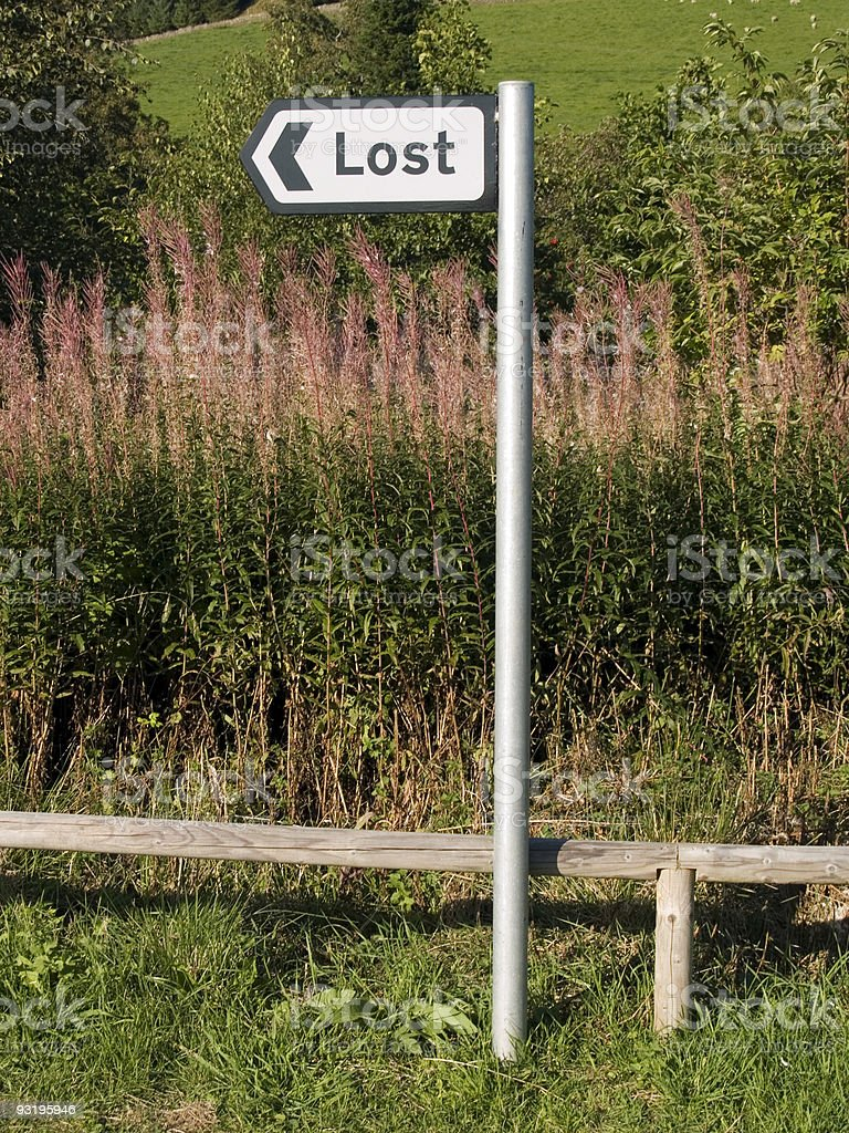 Now where are we? royalty-free stock photo