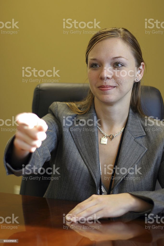Now you! royalty-free stock photo