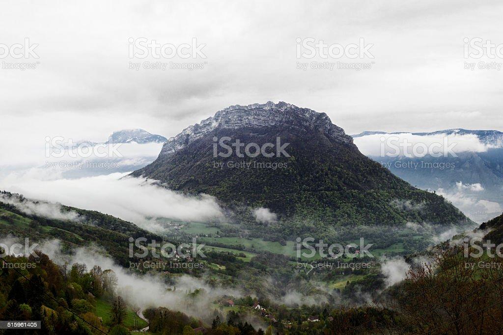 Néron summit, near Grenoble. stock photo