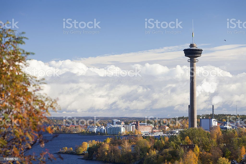 N?sinneula observation tower stock photo