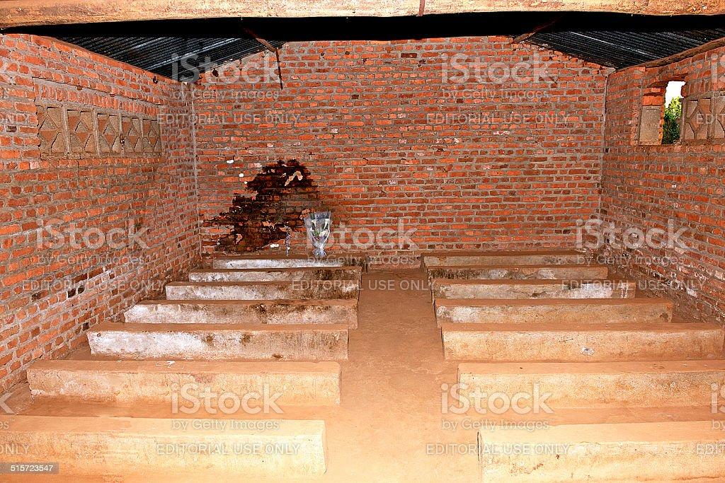 Ntarama church massacre Rwanda Genocide stock photo
