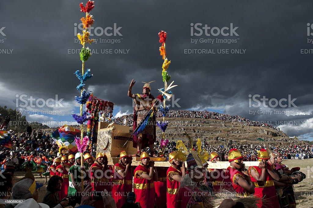 İnti Raymi stock photo