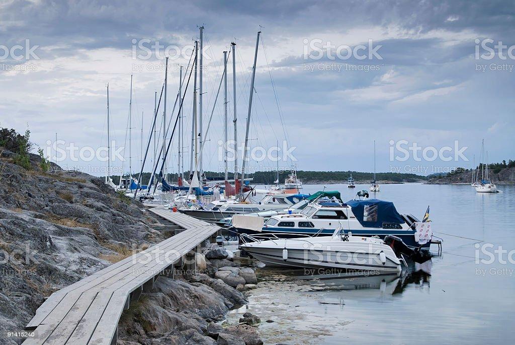 Nåttarö bay, #5 royalty-free stock photo