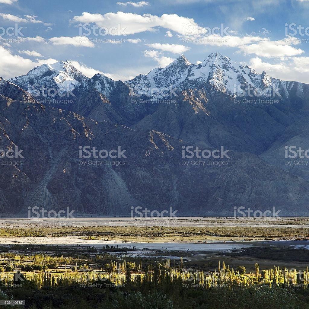 Nubra valley - Indian himalayas - Ladakh - India stock photo