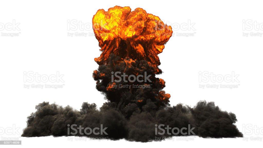 Nuclear bomb stock photo
