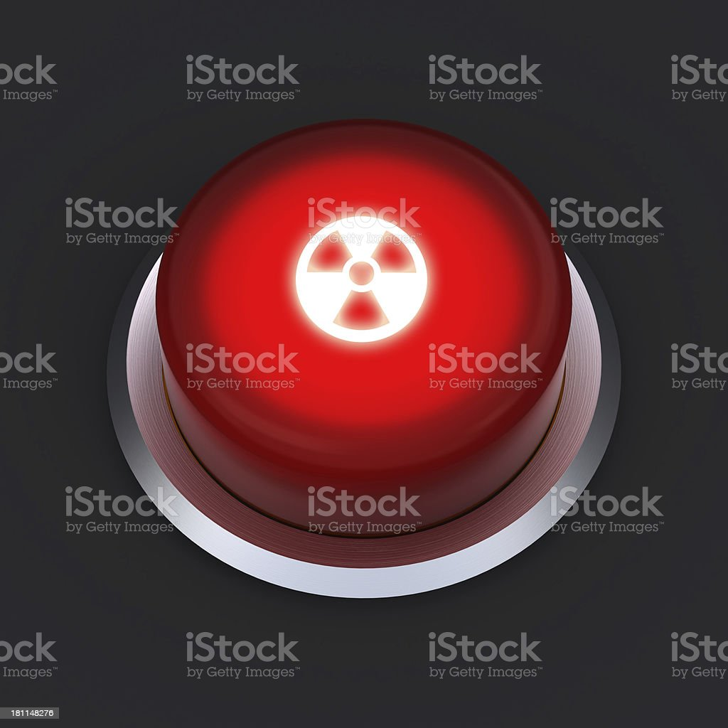 nuclear button royalty-free stock photo