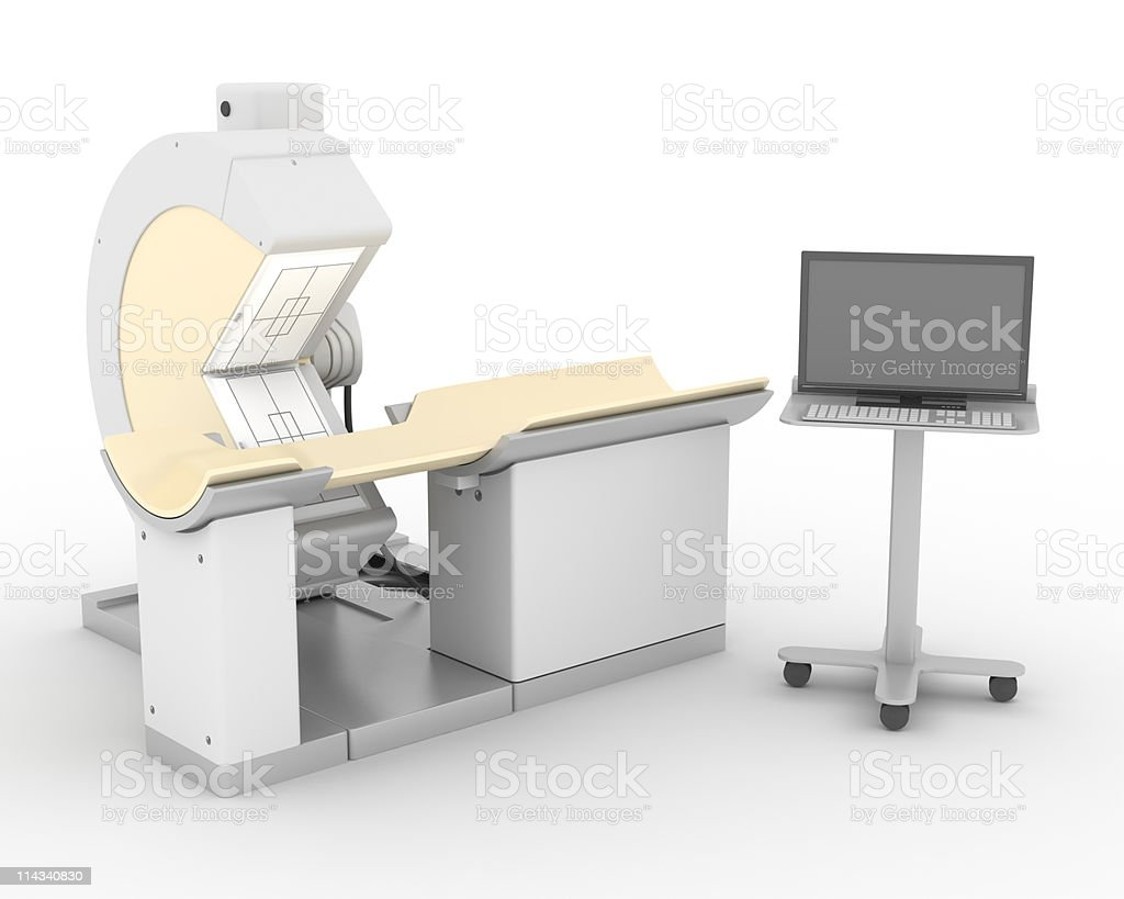 Nuclear Cardiology Machine royalty-free stock photo