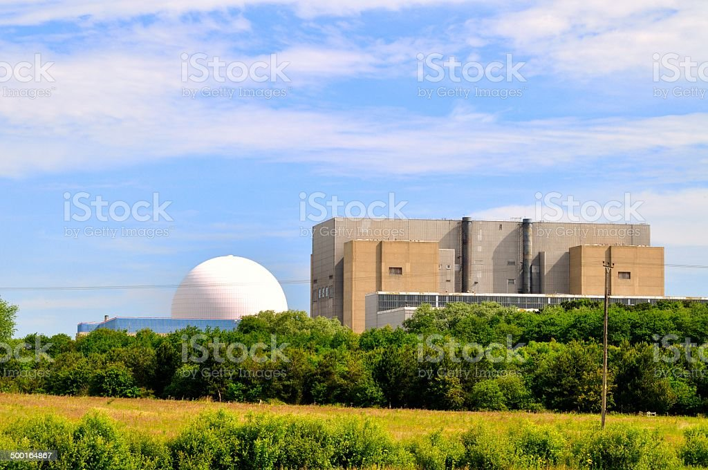 Nuclear dome stock photo