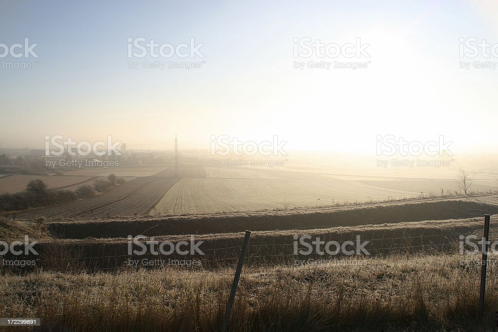Nuclear explosion royalty-free stock photo