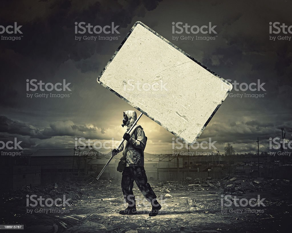 Nuclear future royalty-free stock photo