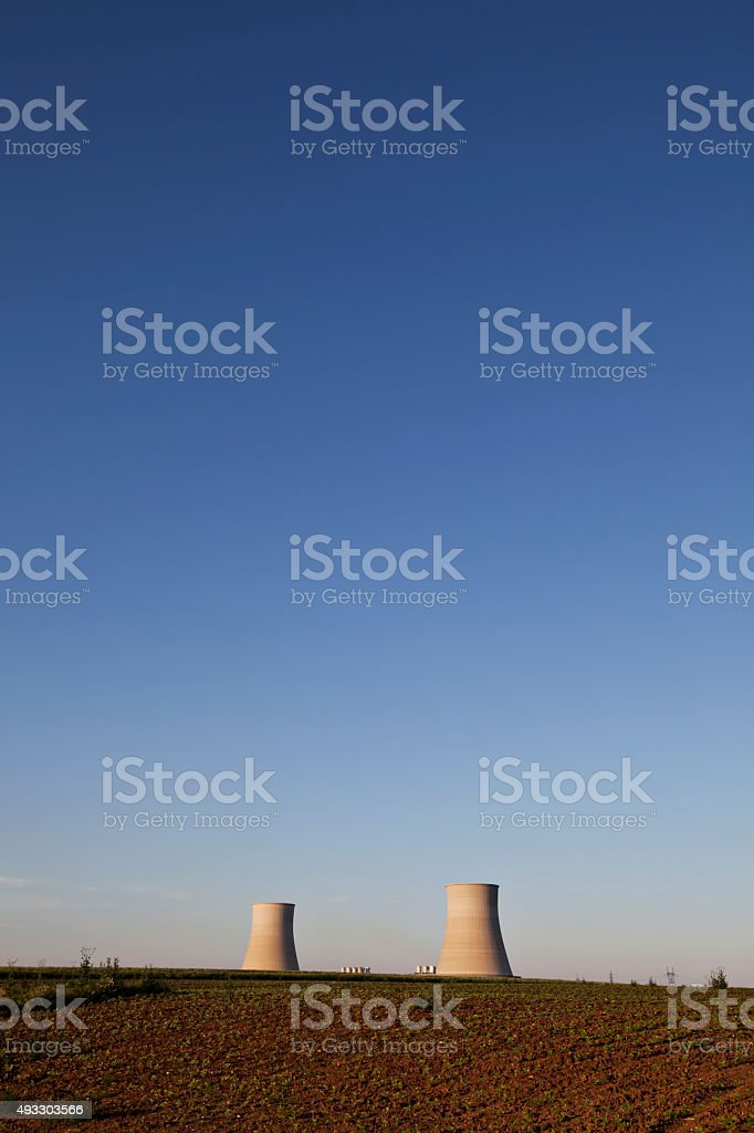 Nuclear Industry stock photo