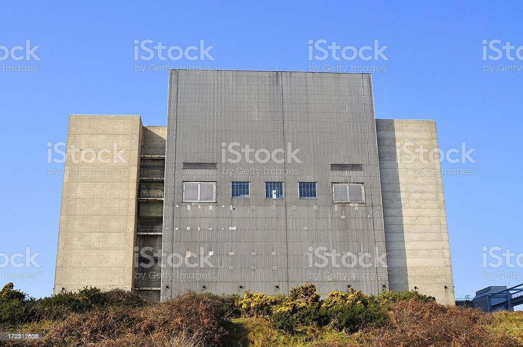 Nuclear monolith stock photo