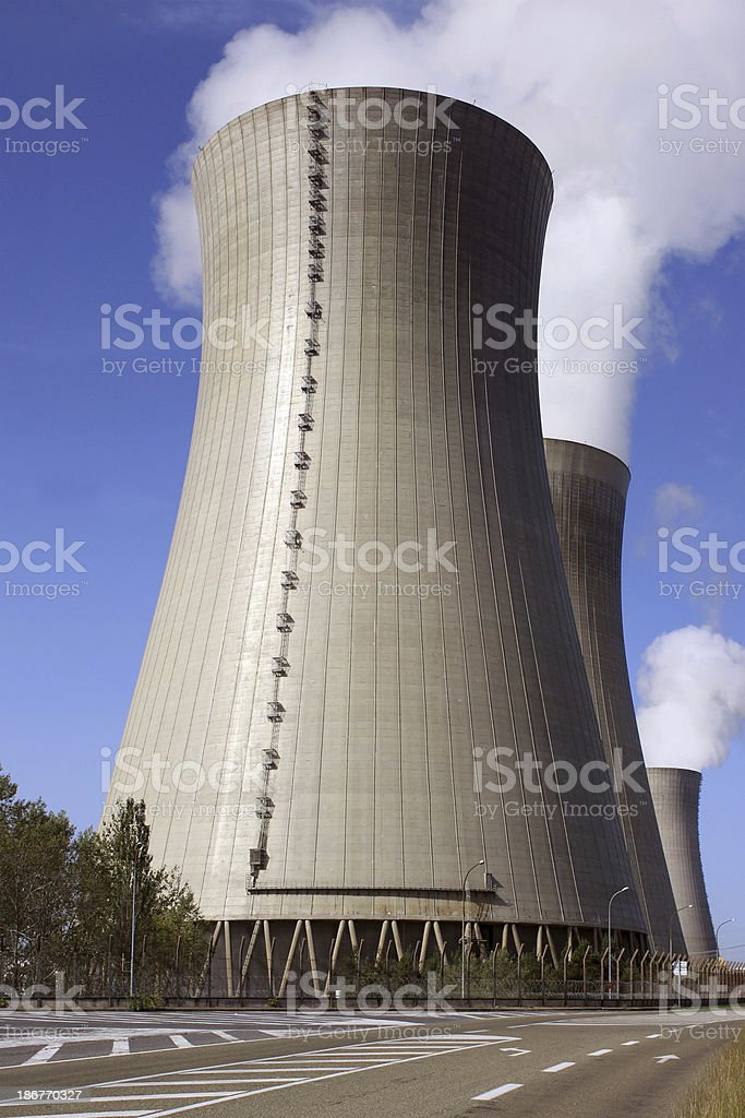 Nuclear royalty-free stock photo