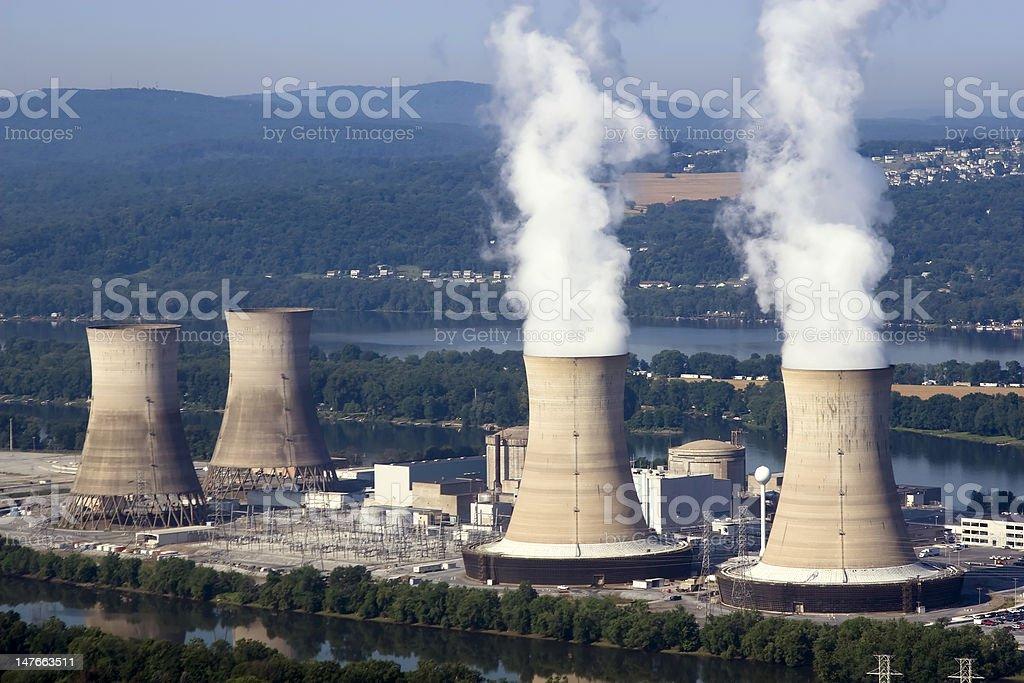 Nuclear Power stock photo
