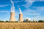 Nuclear Power Station in Germany