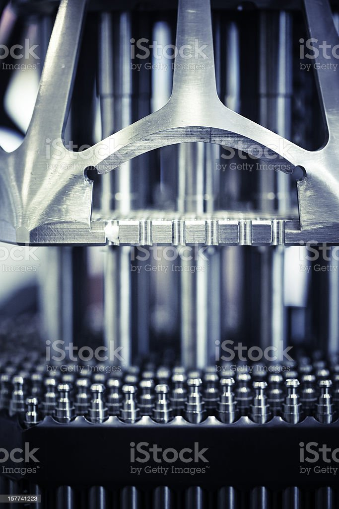 Nuclear Reactor stock photo