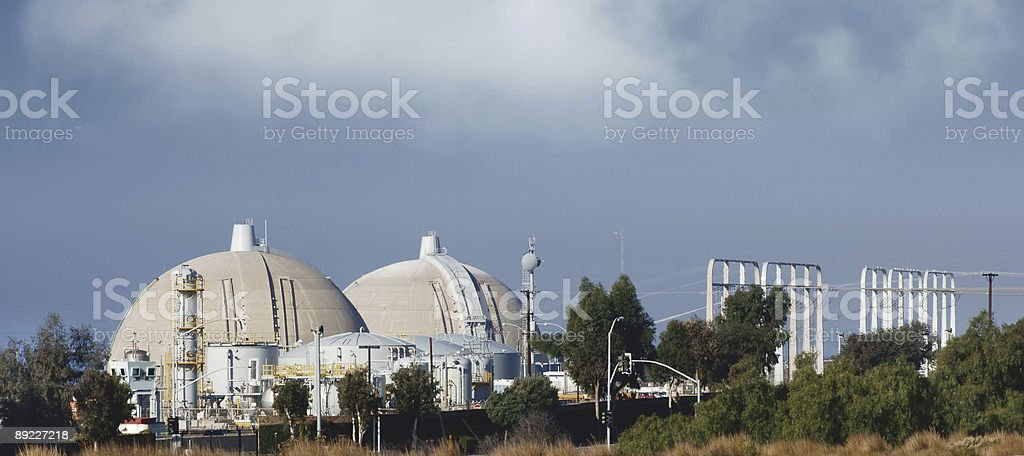 nuclear reactor royalty-free stock photo